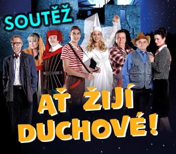 SOUTĚŽ o vstupenky na muzikál AŤ ŽIJÍ DUCHOVÉ! - www.chrudimka.cz