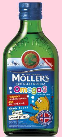 Soutěž o rybí olej Möller´s Omega 3 s ovocnou příchutí - www.chytrazena.cz