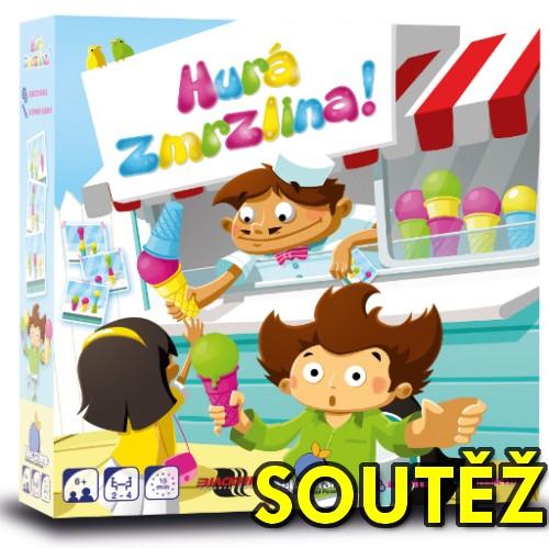 SOUTĚŽ o rodinnou hru HURÁ ZMRZLINA - www.chrudimka.cz