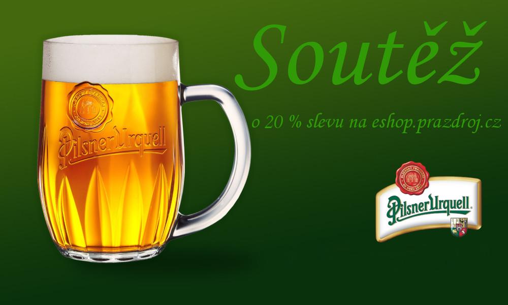 20% sleva na Plzeňské pivo - vtipek.com