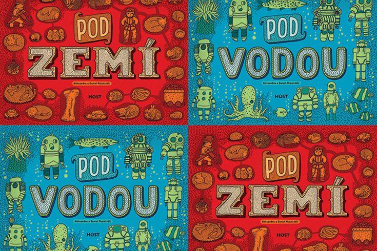 Vyhrajte dvě dětské publikace Pod zemí pod vodou - www.klubknihomolu.cz