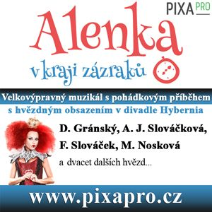 Soutěž o vstupenky na velkovýpravný muzikál ALENKA V KRAJI ZÁZRAKŮ - www.chytrazena.cz