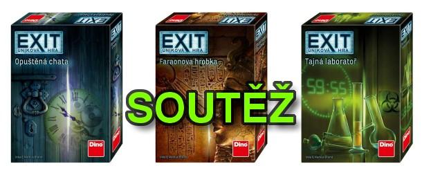 SOUTĚŽ o tři únikové hry EXIT - www.chrudimka.cz