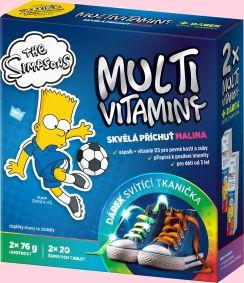 Soutěž o multivitamín The Simpsons Revital se svítící LED tkaničkou - www.chytrazena.cz