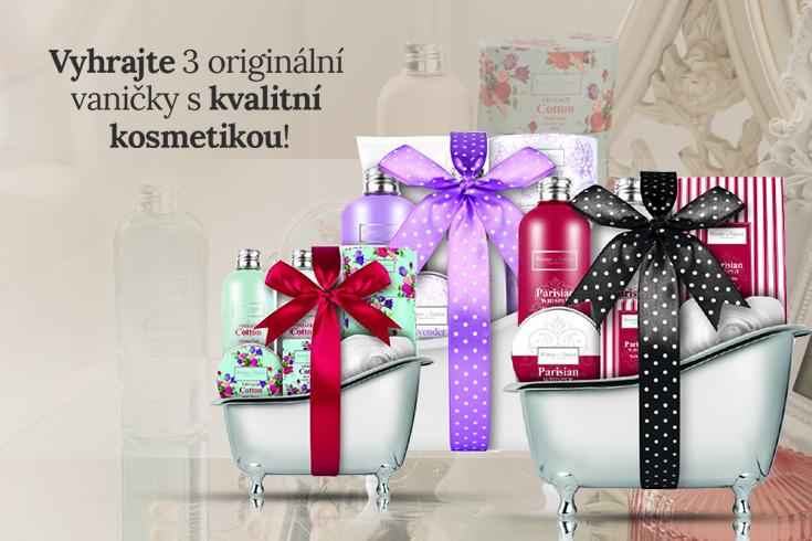 Velká soutěž o 3 krásné vaničky s anglickou kosmetikou - https://www.reknitodarkem.cz/soutez-o-vanicky