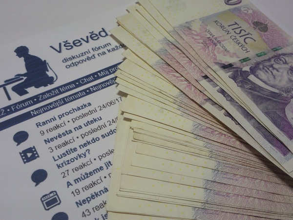 Získejte až 3000 Kč diskutováním na webu - www.vseved-soutez.info