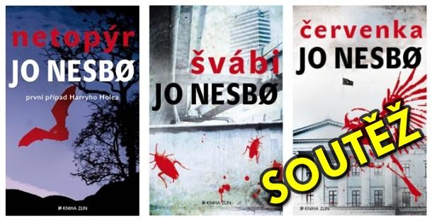 SOUTĚŽ o první tři knihy ze série o detektivu Harrym Holeovi - www.chrudimka.cz