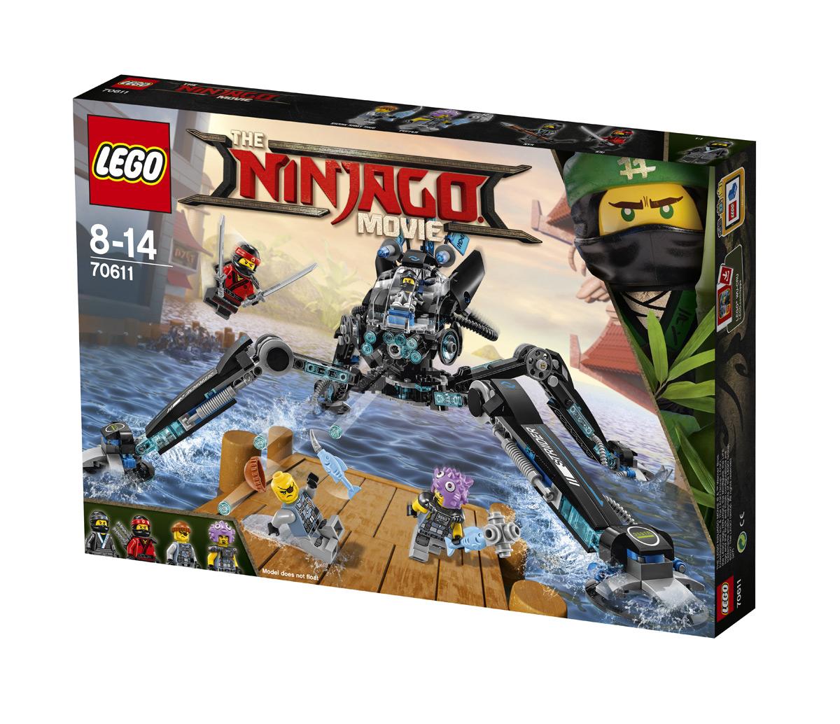 Vyhrajte LEGO Ninjago Vodní chodec — velká stavebnice inspirovaná filmem - www.designportal.cz