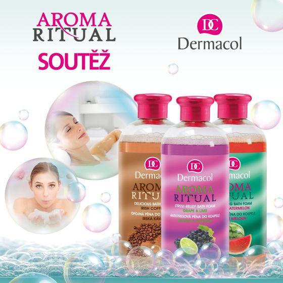 Soutěž o balíčky s pěnami do koupele Dermacol Aroma Ritual - www.chytrazena.cz
