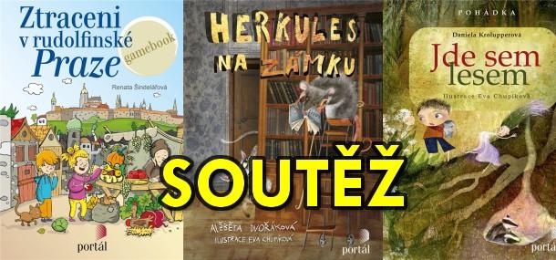 SOUTĚŽ o tři dětské knížky z Nakladatelství PORTÁL - www.chrudimka.cz