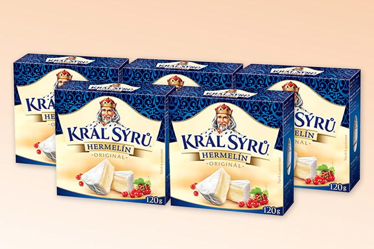 Křížovka o lahodné sýry Hermelín - www.vyhranasedm.cz