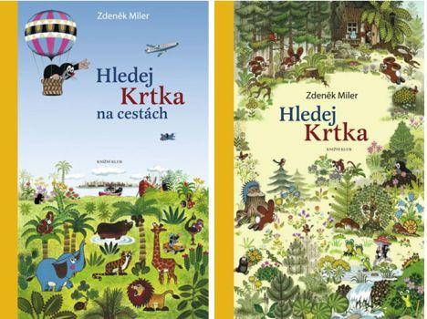 Soutěž o knihy Hledej krtka a Hledej krtka na cestách  - www.vaseliteratura.cz