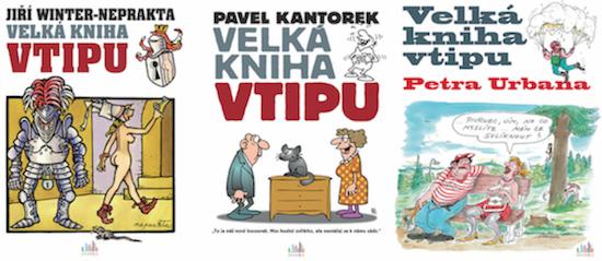 Soutěžte s Managerka.cz o tři knihy z edice Velká kniha vtipu! - www.managerka.cz