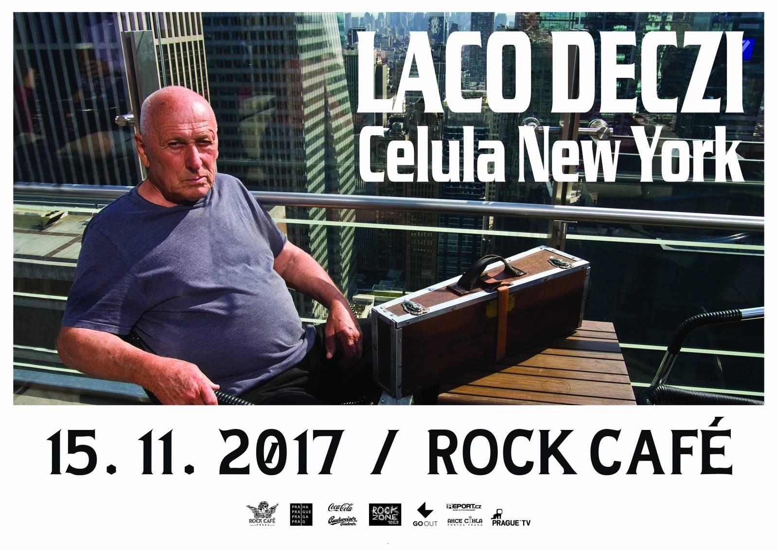 Laco Deczi v Rock Café - www.ireport.cz