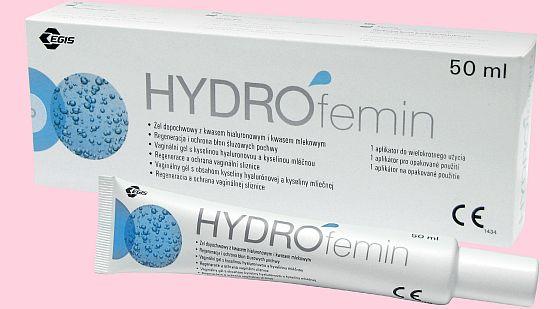 Soutěžte o Hydrofemin gel a tričko - www.chytrazena.cz