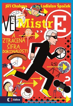 Soutěž o knihu VelMistr E a ztracená šifra dokonalosti  - www.vaseliteratura.cz