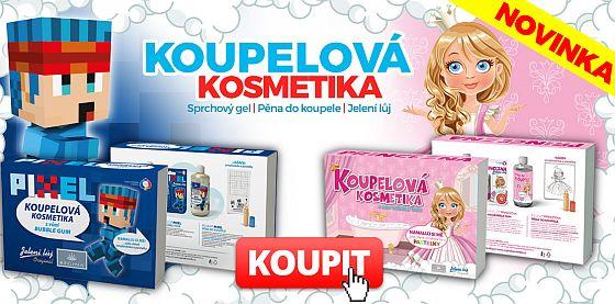 Soutěž o koupelovou kosmetiku pro děti - Princezna a Pixel - www.chytrazena.cz