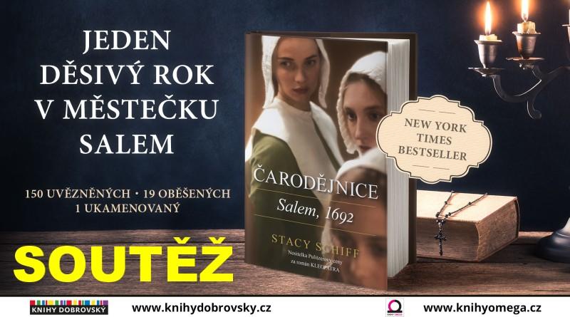 SOUTĚŽ o knihu ČARODĚJNICE: Salem 1692 - www.chrudimka.cz