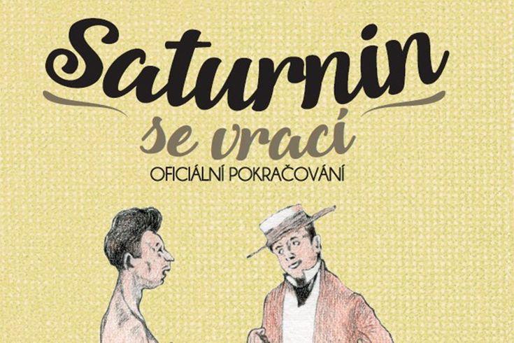 Vyhrajte tři knihy Saturnin se vrací - www.klubknihomolu.cz