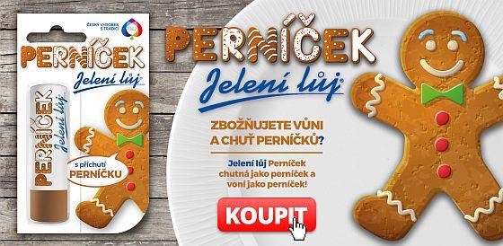 Soutěž o vánoční novinku Jelení lůj PERNÍČEK - www.chytrazena.cz