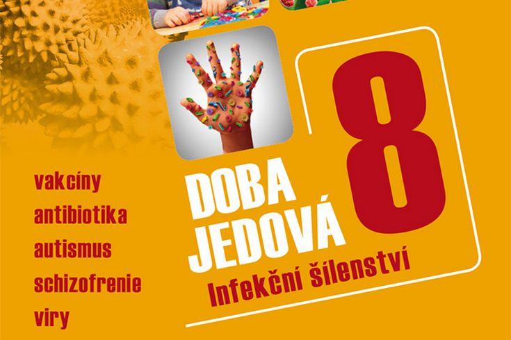 Vyhrajte dvě knihy Doba jedová 8: Infekční šílenství - www.klubknihomolu.cz