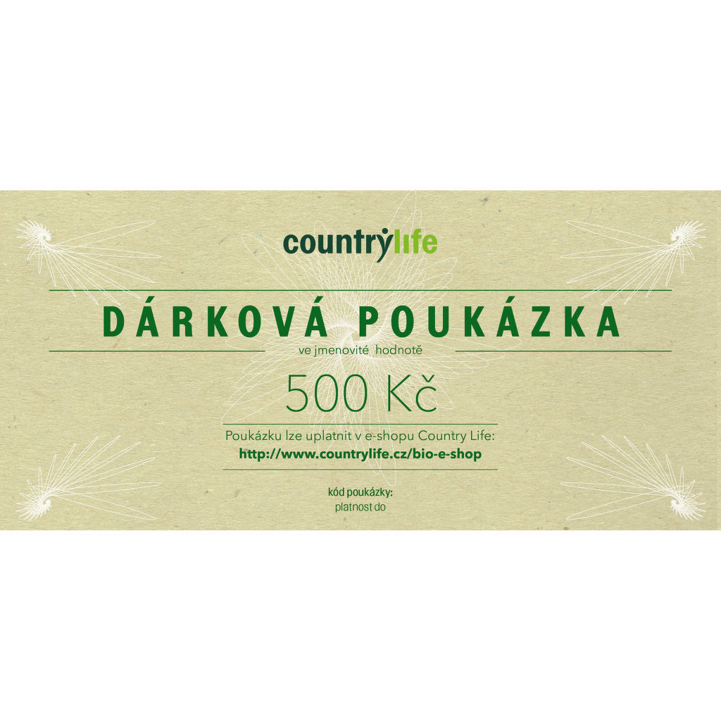 Soutěž o poukázku Countrylife v hodnotě 500- Kč - www.isova.cz