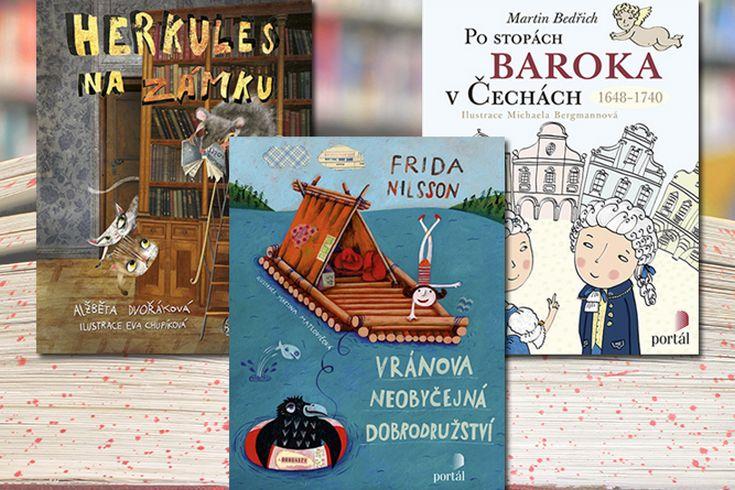 Vyhrajte tři dětské knihy dle výběru - www.klubknihomolu.cz