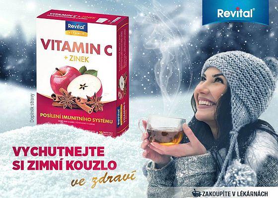Soutěž o speciální vitamínovou edici Revital vitamin C + Zinek - www.chytrazena.cz