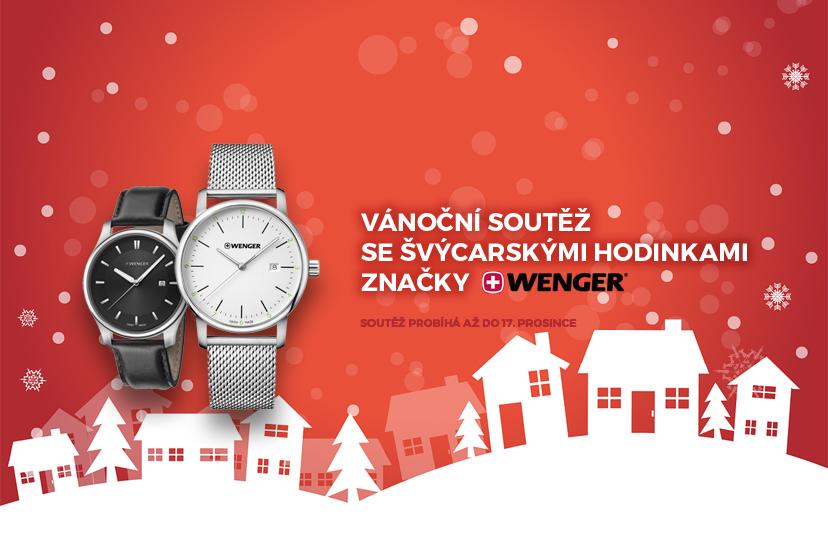 ⌚ Vánoční soutěž o luxusní švýcarské hodinky Wenger! - www.streetfame.org