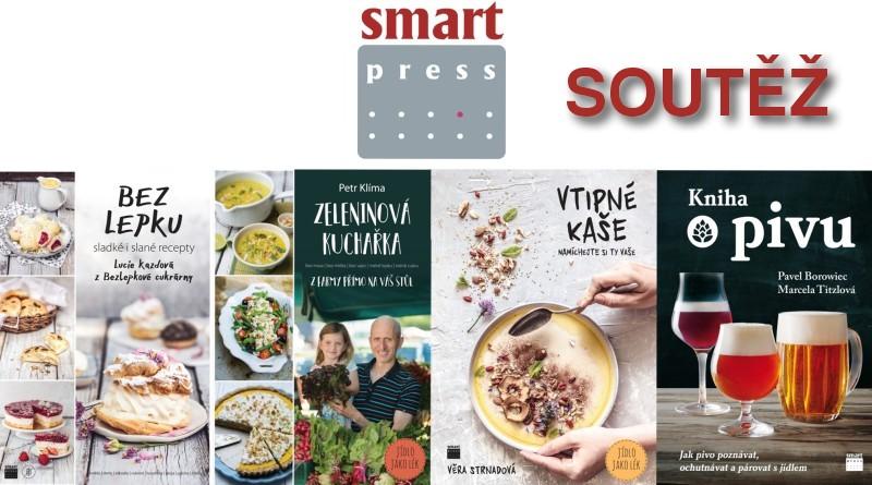 SOUTĚŽ o čtyři knihy z nakladatelství SMART PRESS - www.chrudimka.cz