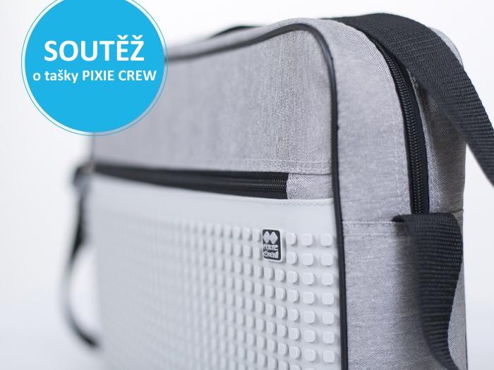 Soutěžte a vyhrajte pixelovou tašku přes rameno značky PIXIE CREW - https://www.pixiecrew.cz