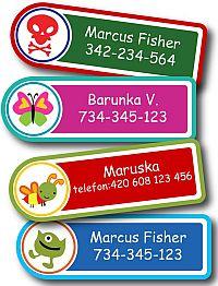 Soutěž o praktické samolepící štítky Happy Label - www.chytrazena.cz