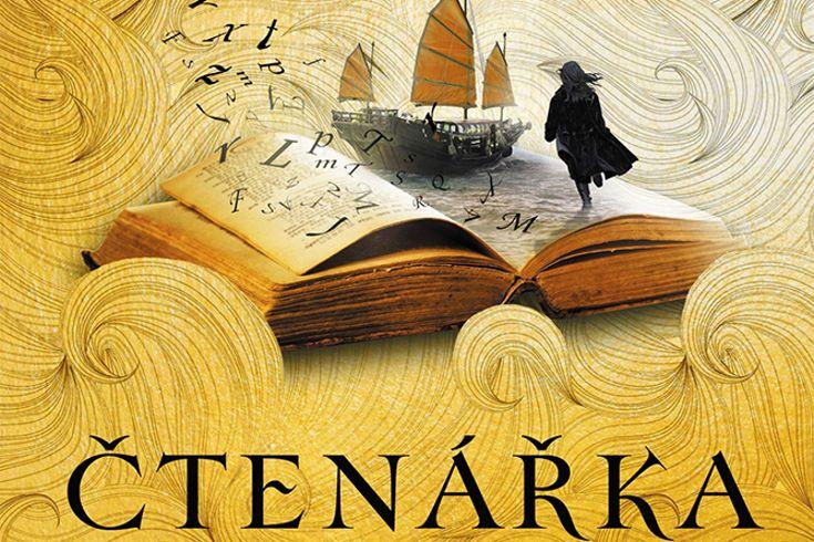 Vyhrajte tři fantasy knihy Moře inkoustu a zlata: Čtenářka - www.klubknihomolu.cz