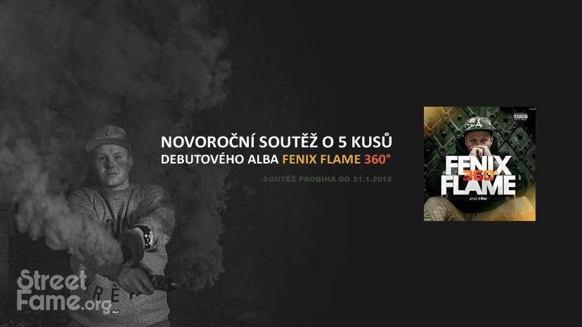 Soutěž o 5 ks debutového alba 360° od Fenix Flame - www.streetfame.org
