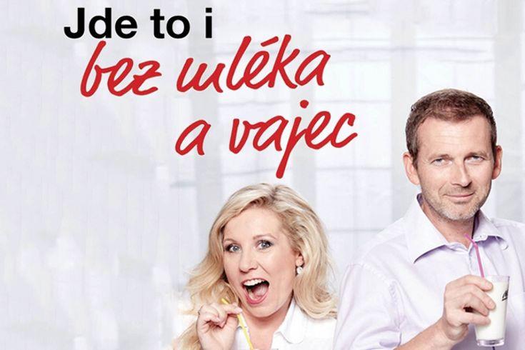 Vyhrajte dvě knihy Jde to i bez mléka a vajec - www.klubknihomolu.cz