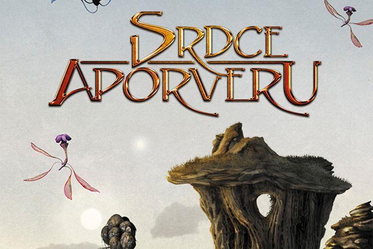 Vyhrajte 3 fantasy knihy českého autora Srdce Aporveru - www.klubknihomolu.cz