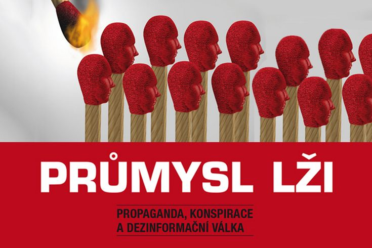 Vyhrajte dvě naučné knihy Průmysl lži - www.klubknihomolu.cz