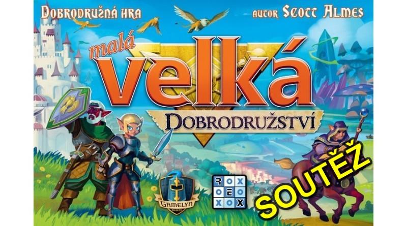 SOUTĚŽ o hru Malá velká dobrodružství - www.chrudimka.cz