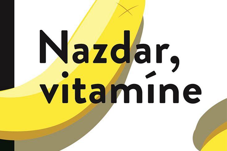 Vyhrajte tři romány Nazdar vitamíne - www.klubknihomolu.cz