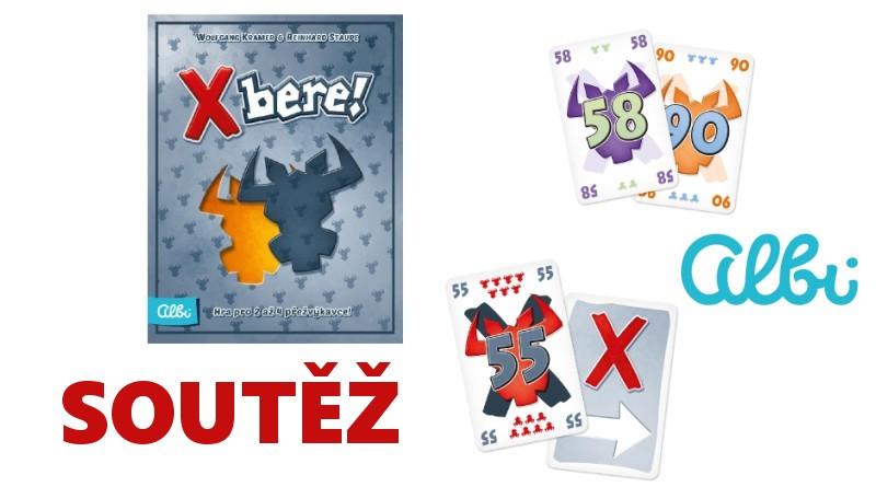 SOUTĚŽ o karetní hru X bere! - www.chrudimka.cz