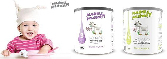 Vyhrajte kojenecká mléka se zdravým kozím mlékem - www.chytrazena.cz