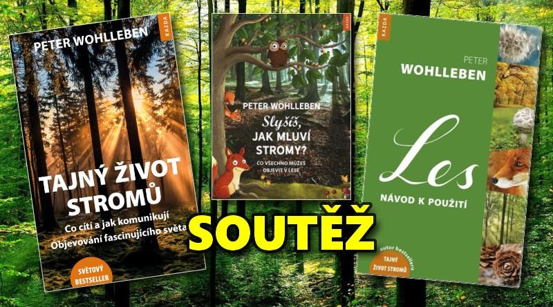 SOUTĚŽ o tři knihy pro milovníky lesa - www.chrudimka.cz