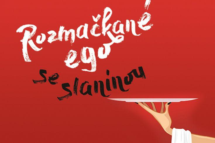 Vyhrajte tři romány Rozmačkané ego se slaninou - www.klubknihomolu.cz