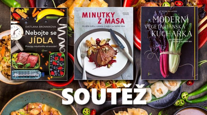 SOUTĚŽ o tři knihy o dobrém jídle - www.chrudimka.cz