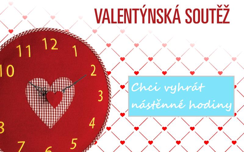Soutěžte o 3 ks nástěnných hodin s motivem srdce! - www.meteoshop.cz