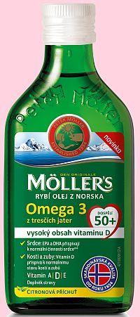 Soutěž o Möllers Omega 3 s citronovou příchutí - www.chytrazena.cz