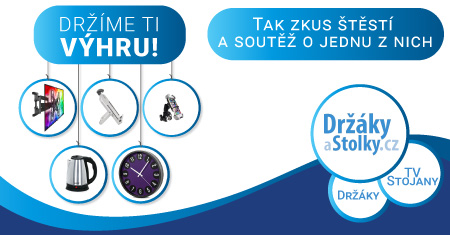 Hrajte s námi o ceny v hodnotě vyšší než 2 500 Kč! - www.drzakyastolky.cz