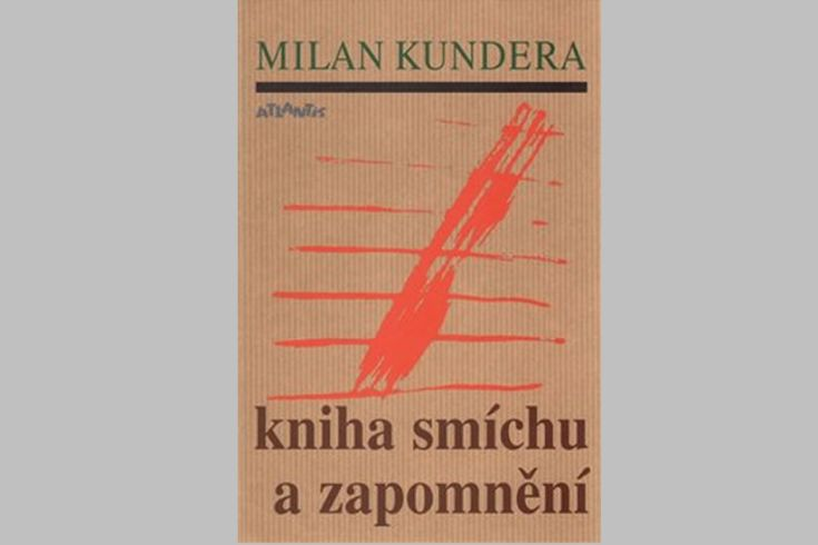 Vyhrajte dva romány Kniha smíchu a zapomnění - www.klubknihomolu.cz