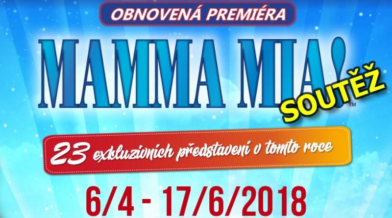 SOUTĚŽ o vstupenky na muzikál MAMMA MIA - www.chrudimka.cz