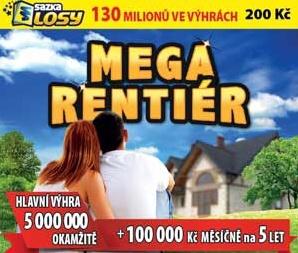 Soutěž o losy Rentiér každý v hodnotě 200- Kč - www.cislasportky.cz